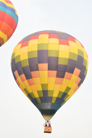 CHIANG RAI, THAILAND FEBRUARY 14, 2018:Singha Park International Balloon Fiesta 2018, take place between February 14th and 18th st Singha Park ,Chiang Rai province ,Thailand.