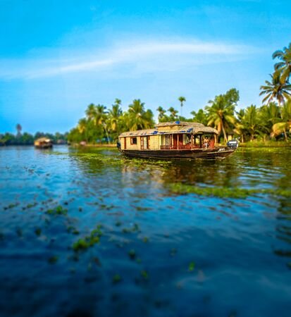 boathouse: kerala river boathouse