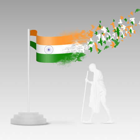gandhi: Indian Independence Day August 15th, the day of Freedom