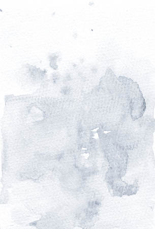 Dusty blue  background. Handdrawn paper with splashes. Sea backdrop. Stok Fotoğraf - 123970776