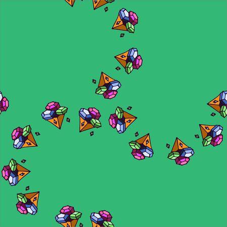gem: Seamless gem pattern