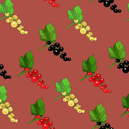 currants: Seamless currants pattern