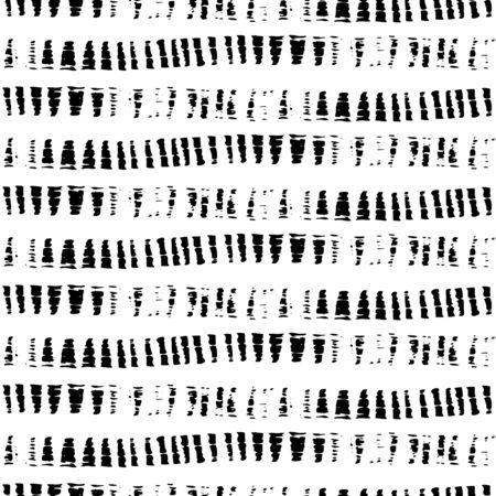 벡터 원활한 패턴입니다. 브러시 스트로크와 추상적 인 배경입니다.