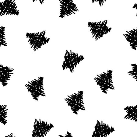 Vector illustration of abstract seamless pattern.Abstract background.
