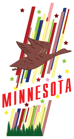 advertise with us: Banner Minnesota for the presentation of the southern US state.
