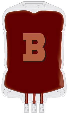 グループ * ベクトルのドナーの血液を含むコンテナー。  イラスト・ベクター素材