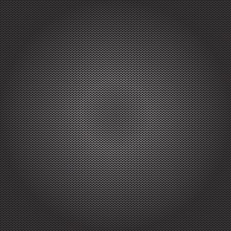 metal mesh: Black background with an oval structural segment Illustration