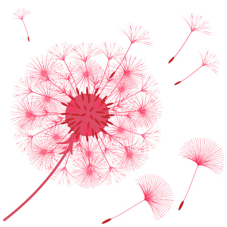 Abstract background of a dandelion for design. Vector illustration. Stock Vector - 95982580