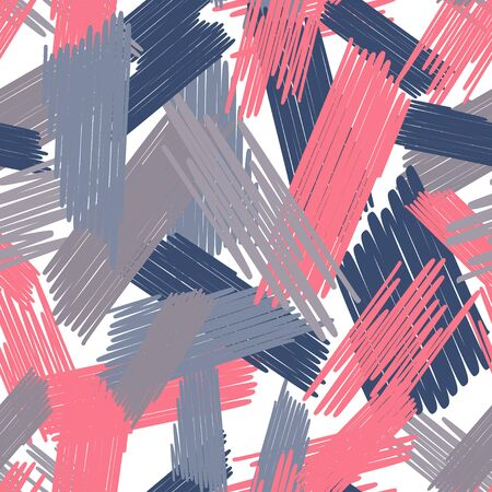 Abstract colored seamless background of doodle.