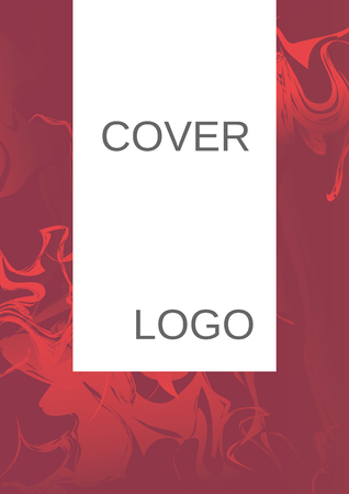 Minimum vector coverage. Contemporary abstract cover. Rich design of VIP. Future futuristic template with abstract current forms for banner design, poster, booklet, report, journal.