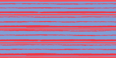 Color Strips. Simpless. Vector Watercolor. Hand Drawn Lines in Watercolor Style. Grunge Stripes with Painted Brush Strokes. Cloth, Textile Design, Linen, Fabric. Vecteurs