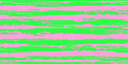 Seamless Background of Stripes. Vector Watercolor. Hand Drawn Lines in Watercolor Style. Grunge Stripes with Painted Brush Strokes.  Cloth, Textile Design, Linen, Fabric.
