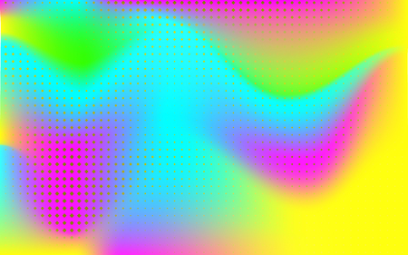 Gradient mesh abstract background. Blurred bright colors mesh background. Vivid smooth mesh blurred futuristic template. Trendy creative vector. Intense blank Holographic spectrum gradient for cover