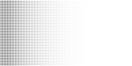 Grange halftone texture of black and white dots. Vector illustration . Minimal geometric background.  Abstract grange halftone texture. Illustration