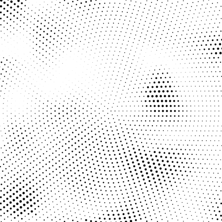 Vector halftone texture. Abstract halftone texture with dots. Black and white minimal abstract background.