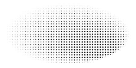 Grange halftone texture of black and white dots. Vector illustration. Minimal geometric background.  Abstract grange halftone texture.