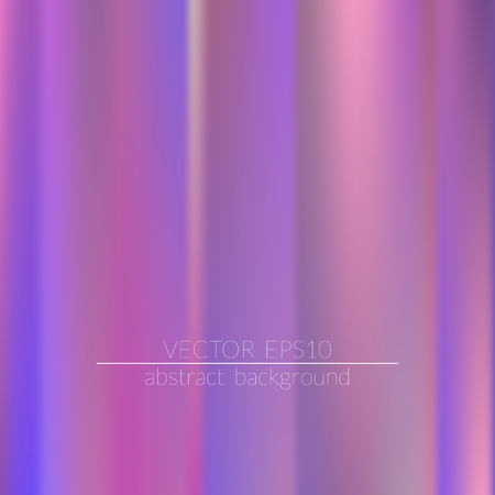 Holographic background. Colorful rainbow gradient.  Trendy creative vector.  Easily editable soft colored vector illustration. Bright print.