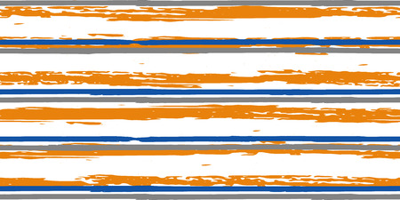 Bandes de couleur. Simple. Aquarelle de vecteur. Lignes dessinées à la main dans un style Aquarelle. Texture Grunge. Convient pour l'impression textile, l'emballage. Vecteurs