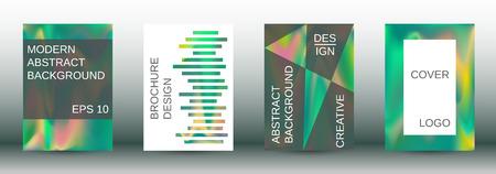 Arrière-plans fluides comme modèle moderne de conception. Arrière-plans fluides créatifs des formes actuelles pour la conception de couvertures abstraites à la mode, bannières, affiches, livrets. Illustration vectorielle