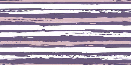 Seamless Background of Stripes. Vector Watercolor.  Fashionable Hand Lines. Grunge Texture.  Suitable for Textile Printing, Packaging.