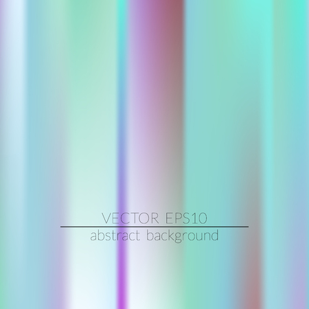 Holographic background. Colorful rainbow gradient.  Trendy creative vector. Intense blank Holographic spectrum gradient for printed products, covers. 일러스트