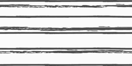 Nahtloser Hintergrund von Streifen. Vektor-Aquarell. Handgezeichnete Linien im Aquarell-Stil. Grunge-Textur. Stoff, Textildesign, Leinen, Stoff.