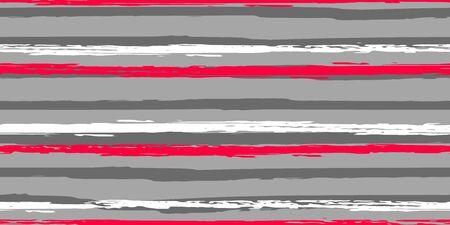 Tiras de colores. Simpless. Acuarela de vector. Líneas de mano de moda. Textura Grunge. Adecuado para impresión textil, embalaje.