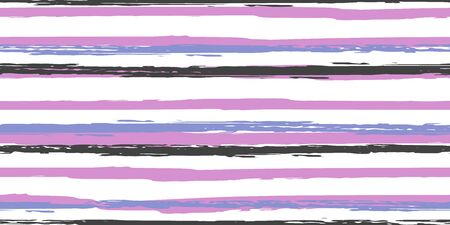 Color Strips. Simpless. Watercolor Striped Fashion Print Design. Hand Drawn Lines in Watercolor Style. Grunge Stripes with Painted Brush Strokes.  Cloth, Textile Design, Linen, Fabric.