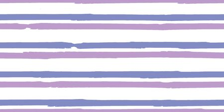 Color Strips. Simpless. Vector Watercolor.  Fashionable Hand Lines. Grunge Stripes with Painted Brush Strokes.  Cloth, Textile Design, Linen, Fabric. Иллюстрация