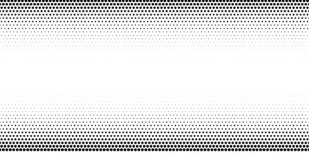 Halftone dotted background. Black dots in modern style on a white background. Vintage illustration for design concept. Modern texture. Polka dot style texture. Stock fotó - 129265282
