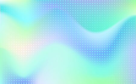 Gradient mesh abstract background. Blurred bright colors mesh background. Vivid smooth mesh blurred futuristic template. Trendy creative vector. Intense blank Holographic spectrum gradient  for cover Ilustrace
