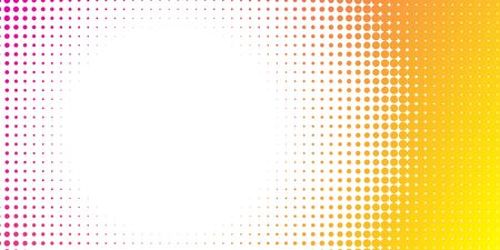 Halftone colorful gradient background for design decoration. Abstract business bright grunge background. Minimal geometric abstract pattern.