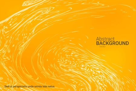 Abstract cover design on yellow background. Abstract template.  Flat design style.  Vector business illustration.
