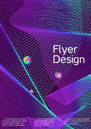 Minimum coverage of the vector. Cover design. Future template for the design of the background of albums, business brochures, banner, poster. Zdjęcie Seryjne - 134855765