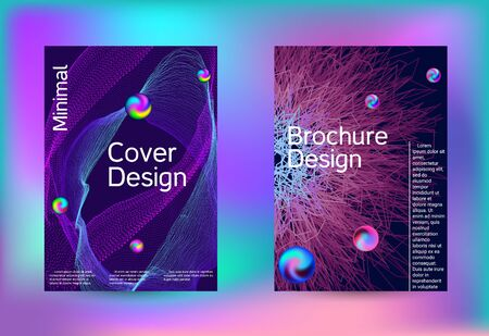 Electronics music set covers. Minimal vector coverage. Business brochure template. Geometric print. Abstract vector background.