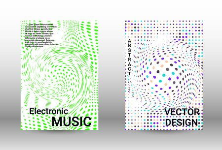 Minimum vector coverage.  A set of modern abstract covers. Musical covers your design, great design for any purposes.  Concept business vector.