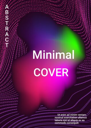 Modern abstract background. Abstract musical cover for print design. Business concept illustration. Illustration