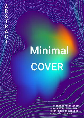Modern design template. Cover music album. Business concept illustration.