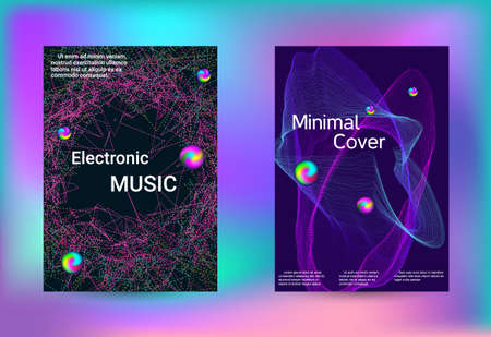Set of covers for design. Minimal vector coverage. Business brochure template. Geometric print. Abstract vector background. Ilustrace