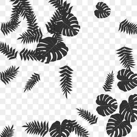 Trendy vector tropical pattern, great design for any purposes. Beautiful spring garden. Tropical backdrop. Summer green garden. Summer tropical leaf. Holiday decoration. Ilustracje wektorowe