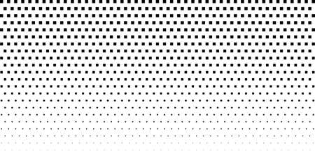 Halftone texture with geometric figures. Vector. Modern background for posters, websites, web pages, business cards, postcards, interior design. Punk, pop, grunge in vintage style. Minimalism.