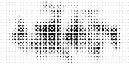 Halftone texture with dots. Vector. Modern background for posters, websites, web pages, business cards, postcards, interior design. Punk, pop, grunge in vintage style. Minimalism.