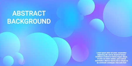 Ball shape gradients. Modern graphic texture. Bright gradient. Vector geometric illustration. Background picture with balls for banner, poster, cover design.