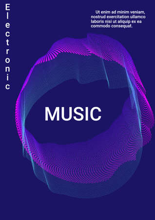 Minimum vector coverage. Modern abstract background. Sound flyer to create trendy abstract cover, banner, poster, booklet.