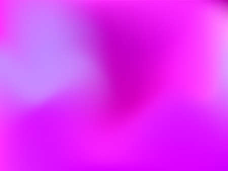 Holographic background. Bright, smooth mesh with a blurry futuristic pattern. Trendy advertising vector. Intense holographic spectrum gradient for printing products, covers. Ilustración de vector