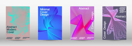 Future futuristic template with abstract current forms for banner design, poster, booklet, report, journal.