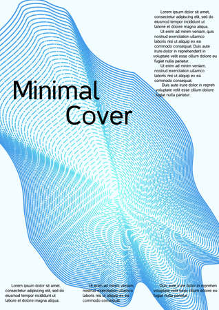 Modern abstract background. Modern design template. Creative background from abstract lines to create a fashionable abstract cover, banner, poster, booklet.