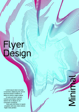 Modern design template. Creative fluid backgrounds from current forms to design a fashionable abstract cover, banner, poster, booklet.