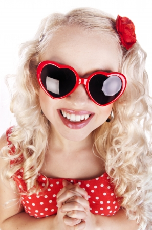 Funny excited girl Stock Photo - 16572561