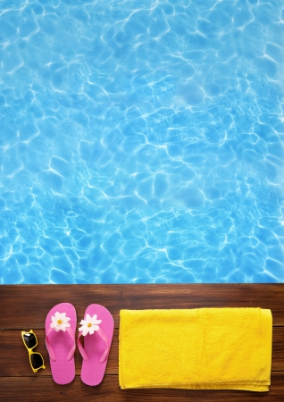 swimming shoes: Swimming time